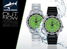 CHRIS BENZ DEEP 500M Automatic Grün