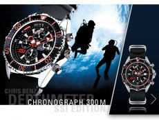 CHRIS BENZ DEPTHMETER Chronograph 300M SSI Edition