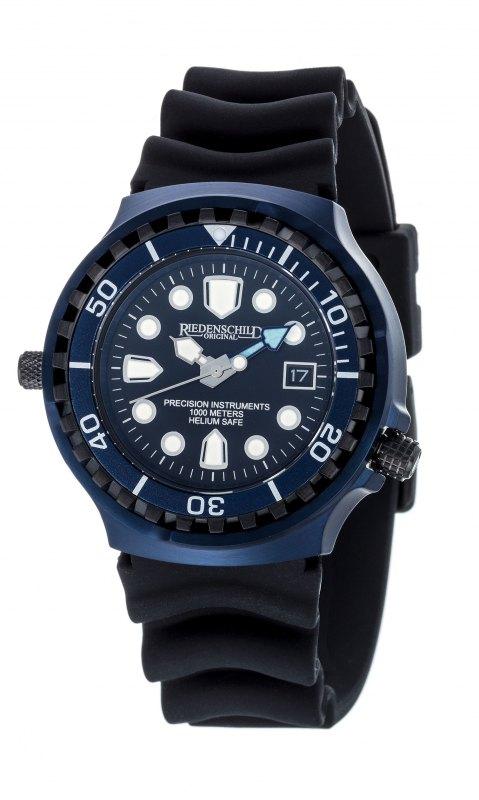 Riedenschild 100ATM BLUE Edition Taucheruhr RS9000-08