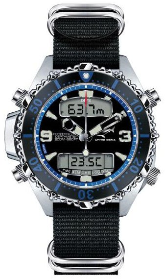 CHRIS BENZ DEPTHMETER Digital 200M Blau