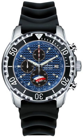 CHRIS BENZ Antoine Albeau Chronograph 200M